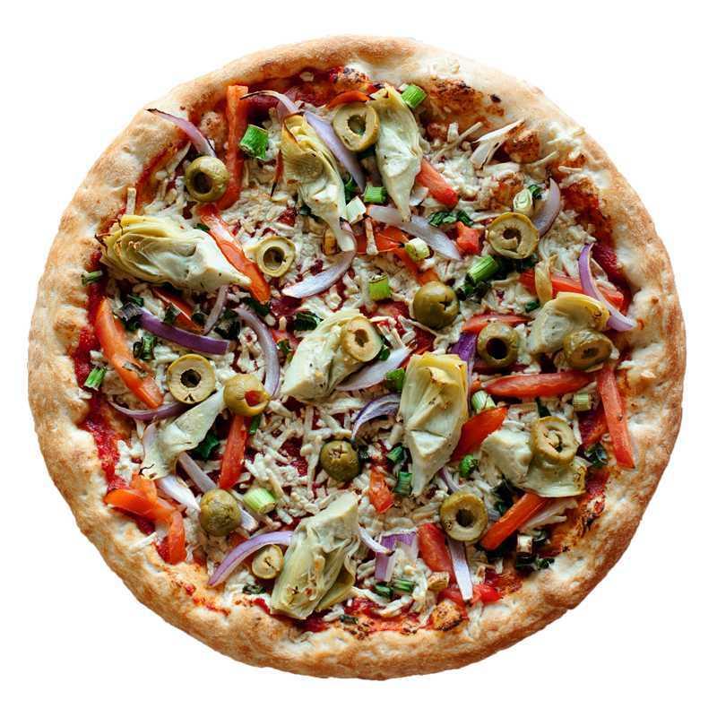Hearty Vegan Pizza Rovente Pizzeria